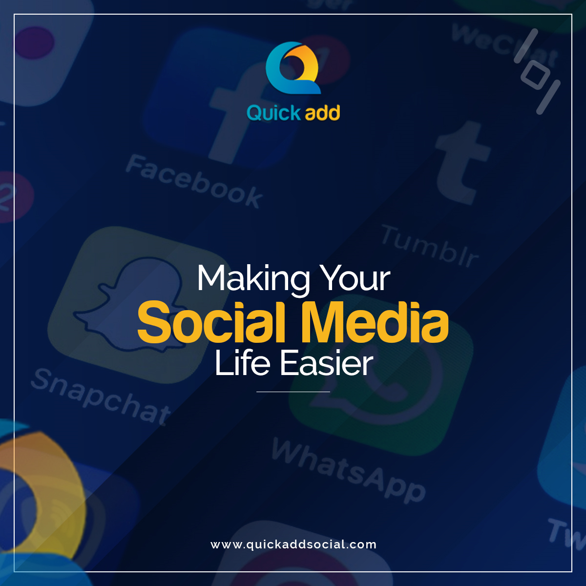 Quick Add- Making Your Social Media Life Easier