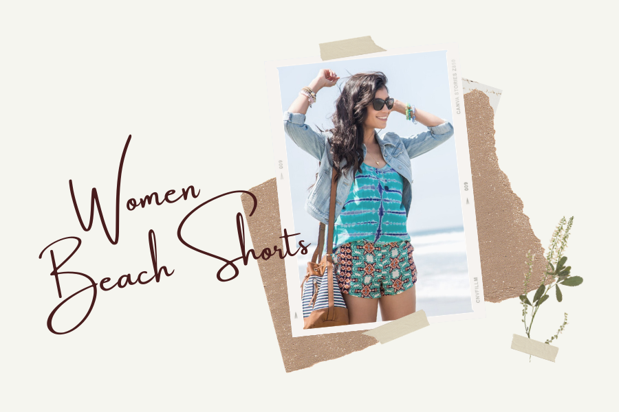 4 Best looks for women beach shorts