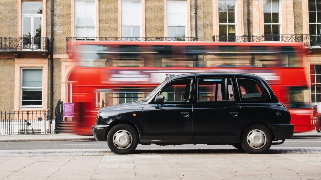 Cabs in London