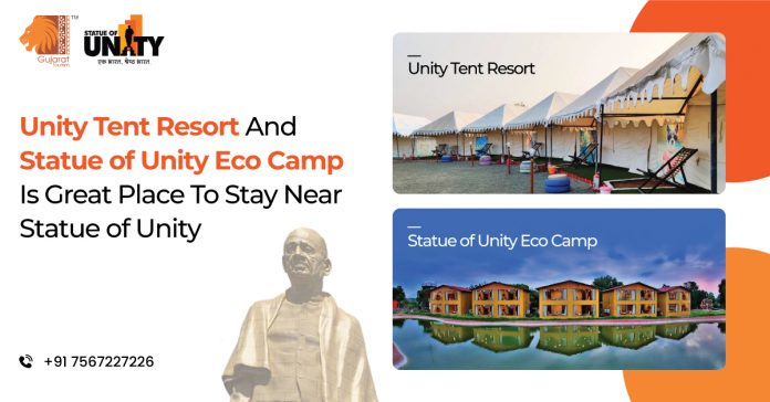 Statue Of Unity Unity Resort and Eco Camp